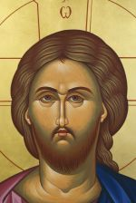 Detail of the icon 'Jesus Christ'