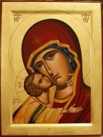 Virgin Mary with Child 'Tenderness'